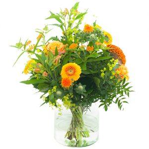 Veldboeket oranje