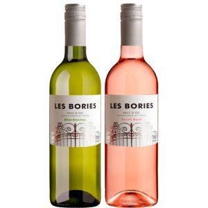 Les Bories duo chardonnay Syrah rosé