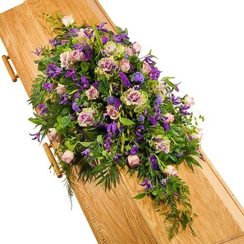 Kistversiering lila-paars