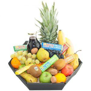 Fruitmand de Luxe met tony's chocolonely