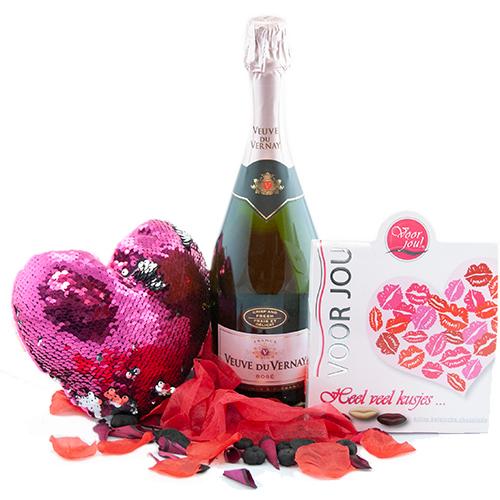 Moederdag cadeau veuve du vernay rosé
