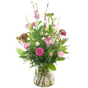 Voorjaarsboeket roze