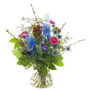 Voorjaarsboeket lila/paars